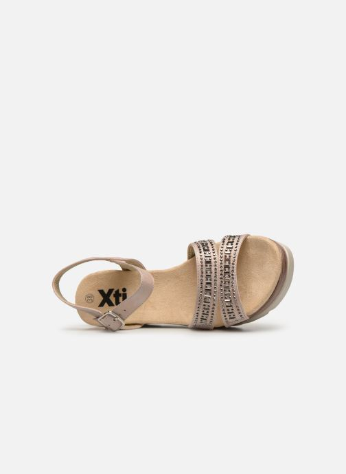 Sandals Xti 48860 Beige view from the left