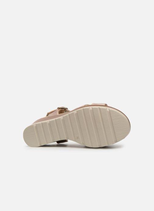 Sandales et nu-pieds Xti 48860 Beige vue haut