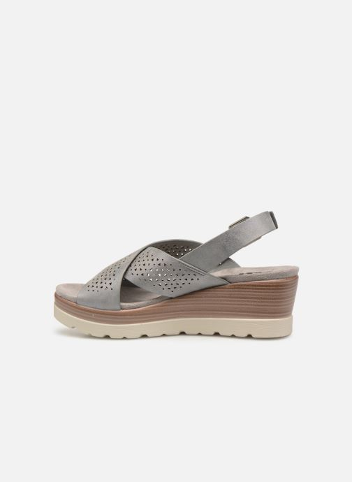 Sandals Xti 48862 Grey front view