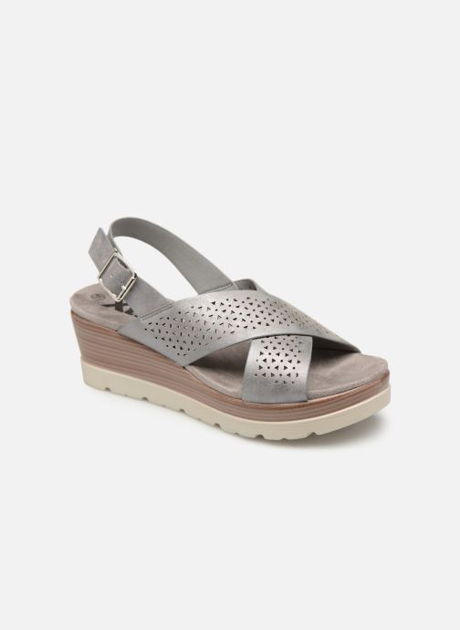Sandals Xti 48862 Grey detailed view/ Pair view
