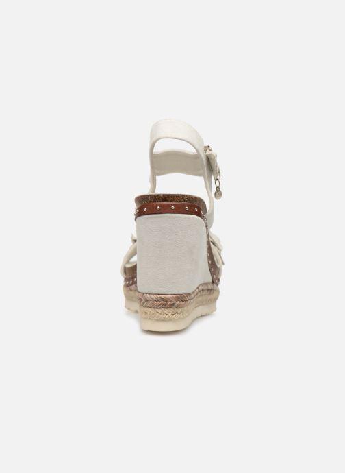 Sandalias Xti 48921 Blanco vista lateral derecha