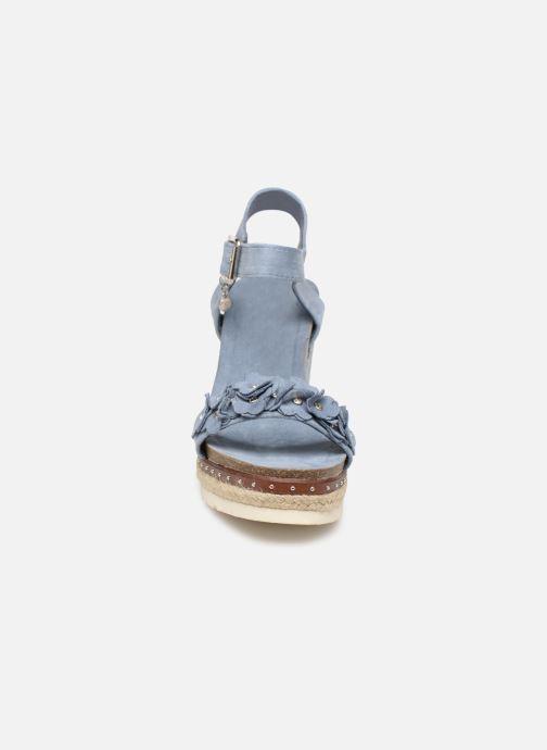 Sandales et nu-pieds Xti 48921 Bleu vue portées chaussures