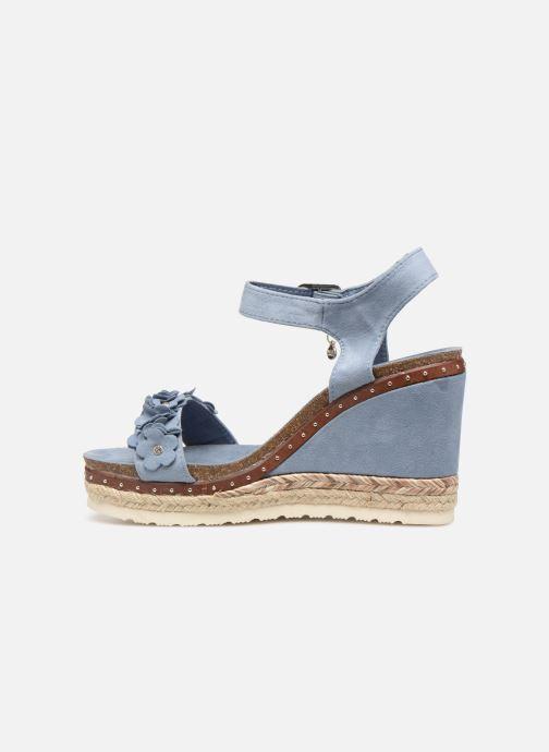 Sandales et nu-pieds Xti 48921 Bleu vue face
