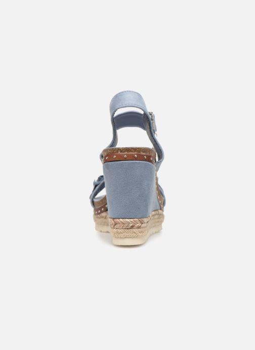 Sandales et nu-pieds Xti 48921 Bleu vue droite