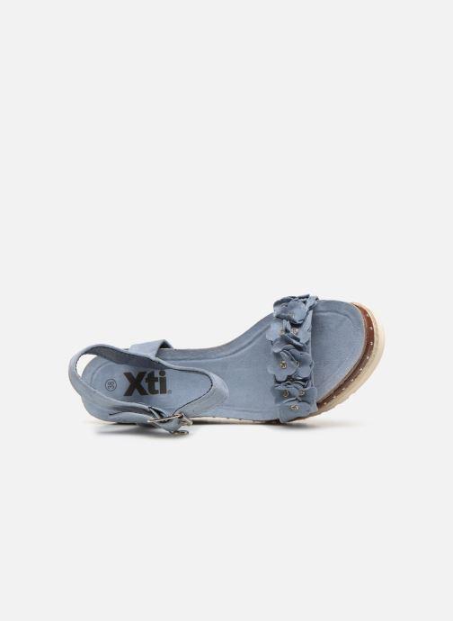 Sandales et nu-pieds Xti 48921 Bleu vue gauche