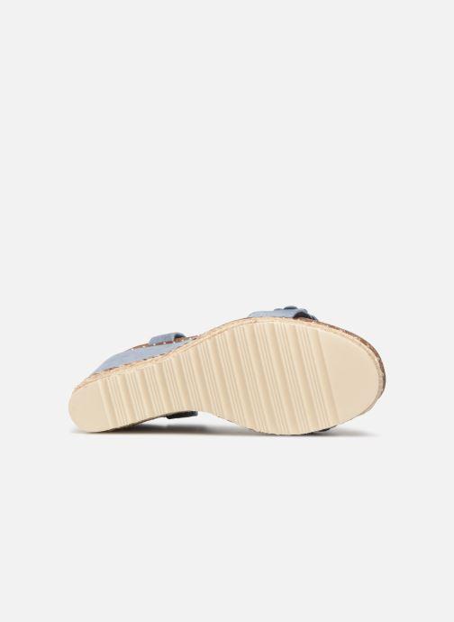Sandales et nu-pieds Xti 48921 Bleu vue haut