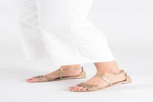 Sandales et nu-pieds Xti 48986 Rose vue bas / vue portée sac