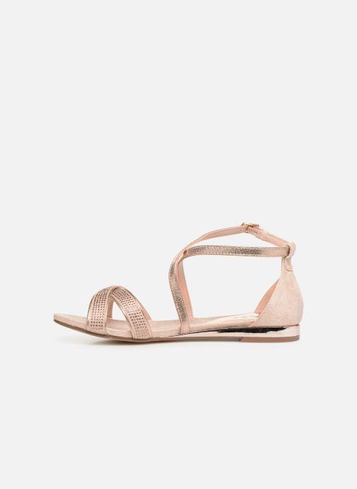 Sandales et nu-pieds Xti 48986 Rose vue face