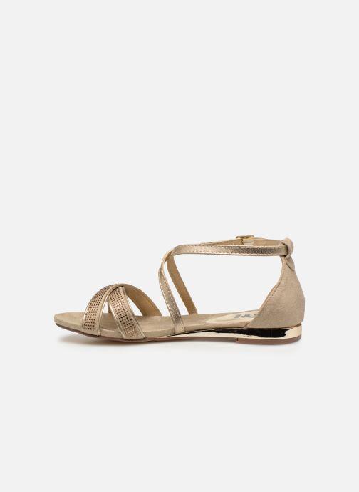 Sandales et nu-pieds Xti 48986 Beige vue face