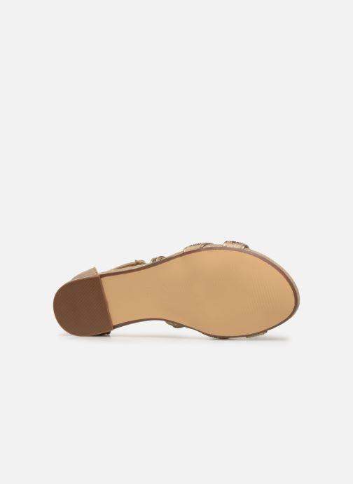 Sandales et nu-pieds Xti 48986 Beige vue haut