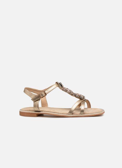 Sandales et nu-pieds Xti 48995 Or et bronze vue derrière