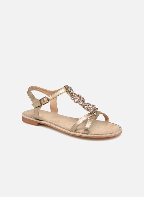 Sandales et nu-pieds Xti 48995 Or et bronze vue détail/paire