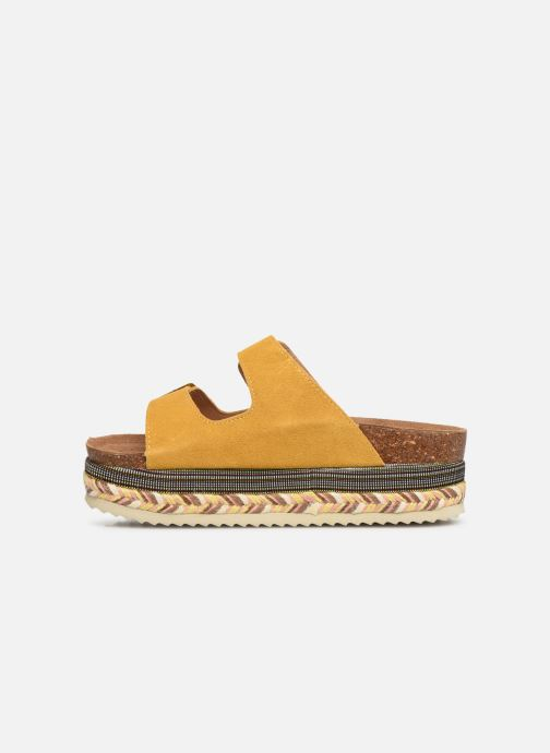 Mules & clogs Xti 49052 Yellow front view