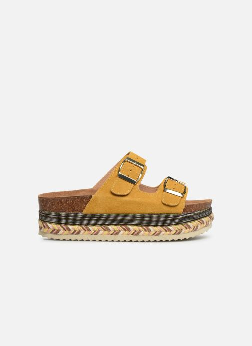 Mules & clogs Xti 49052 Yellow back view