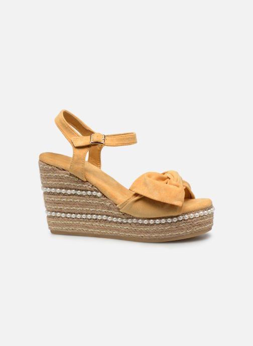 Sandales et nu-pieds Xti 49073 Jaune vue derrière