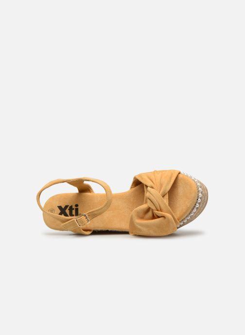 Sandales et nu-pieds Xti 49073 Jaune vue gauche