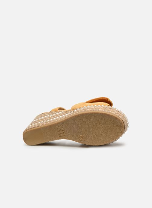 Sandales et nu-pieds Xti 49073 Jaune vue haut