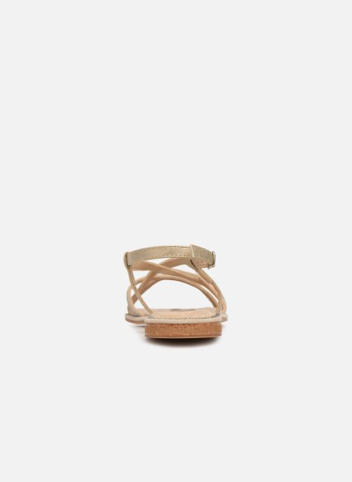 Sandali e scarpe aperte Xti 49082 Beige immagine destra