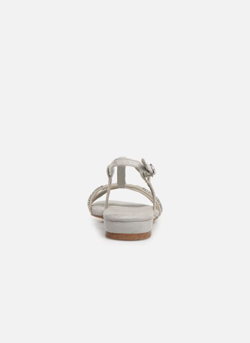 Sandalen Xti 49087 Zilver rechts