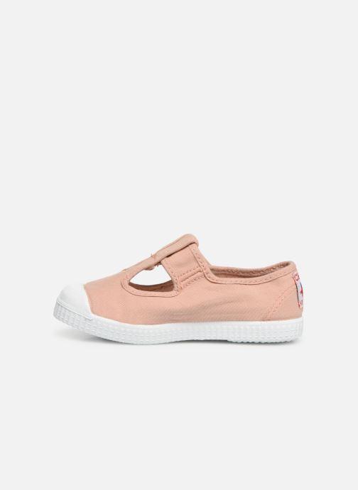 Sneaker Cienta Pilou beige ansicht von vorne