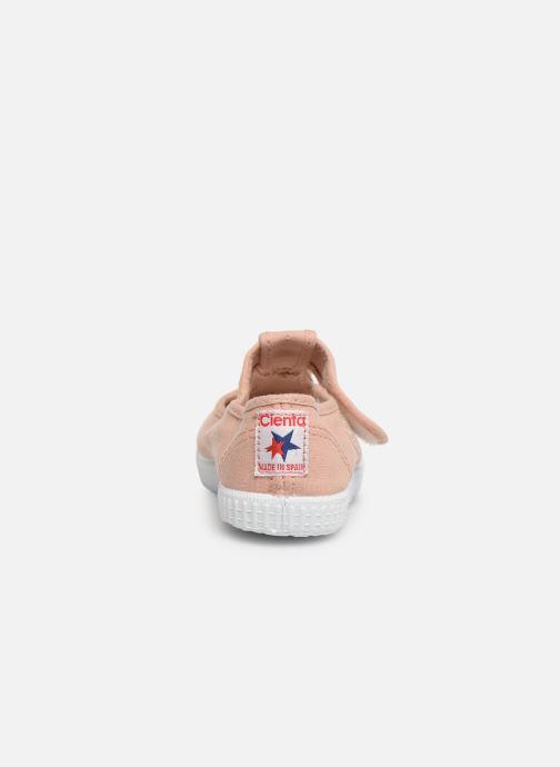 Sneaker Cienta Pilou beige ansicht von rechts