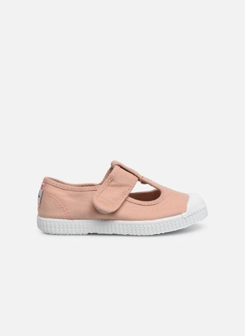 Sneaker Cienta Pilou beige ansicht von hinten