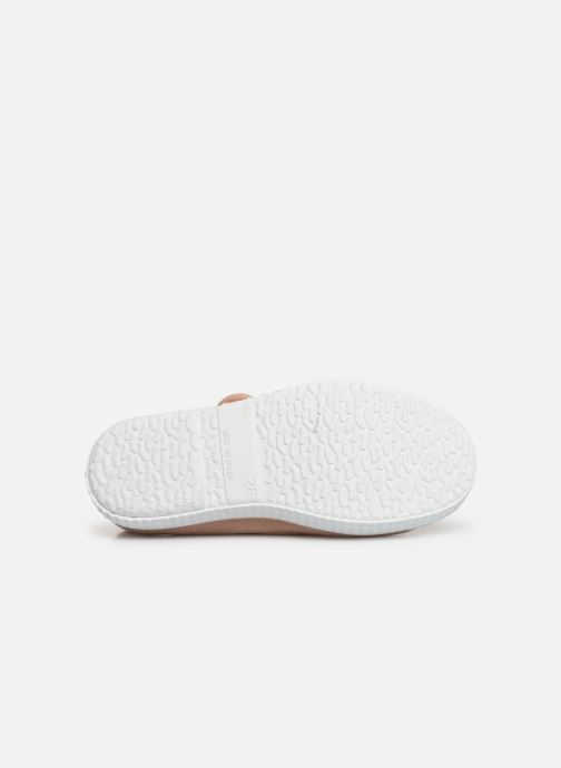 Sneaker Cienta Pilou beige ansicht von oben