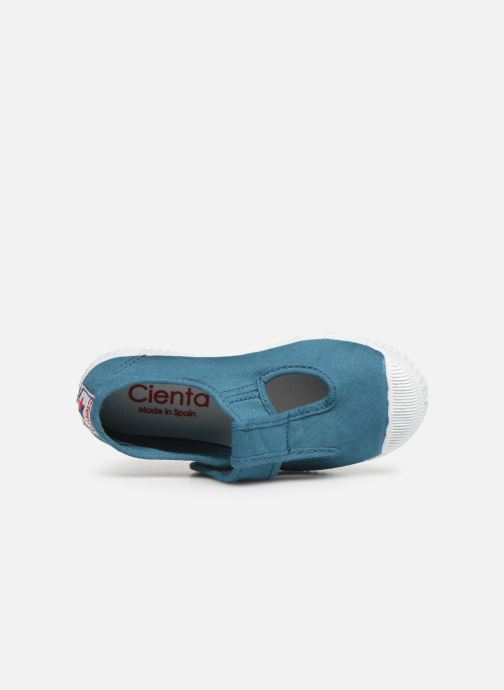 Sneakers Cienta Pilou Blauw links