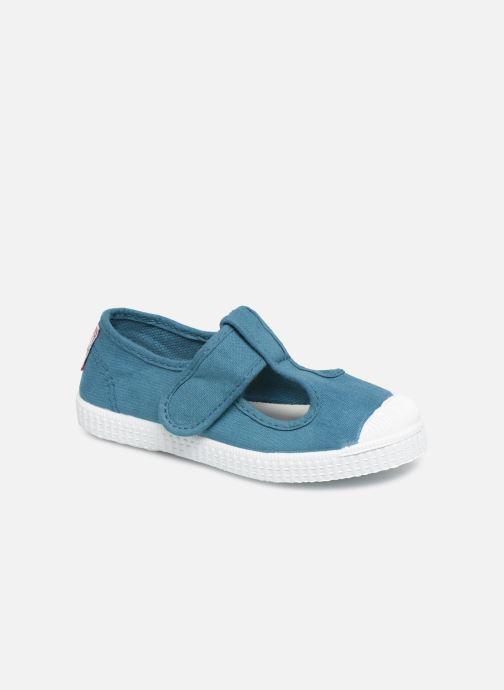 Sneakers Cienta Pilou Blauw detail
