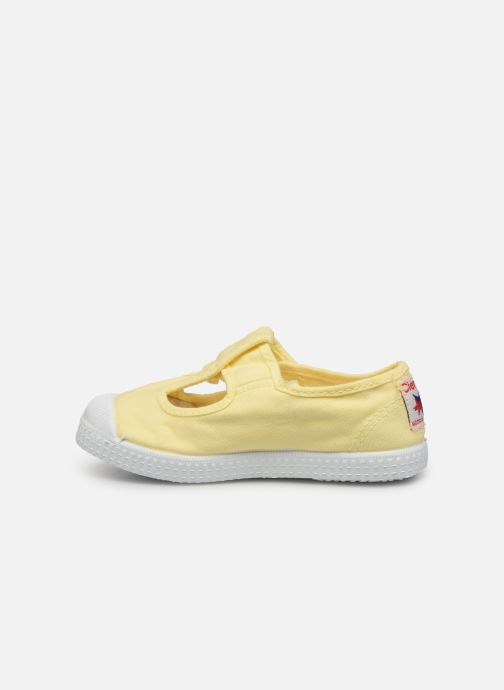 Sneakers Cienta Pilou Giallo immagine frontale