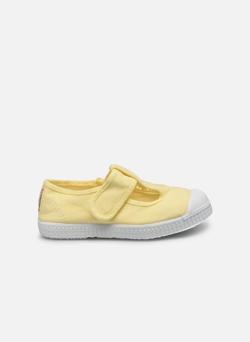 Sneaker Cienta Pilou gelb ansicht von hinten