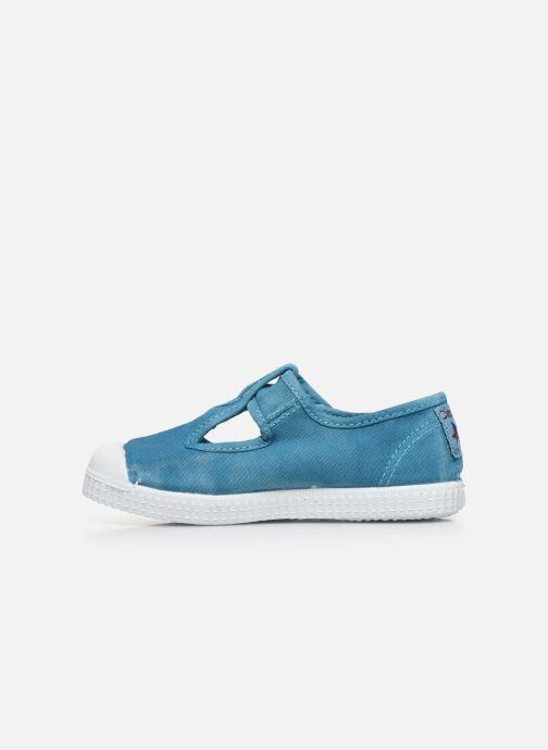Sneakers Cienta Pilou Azzurro immagine frontale