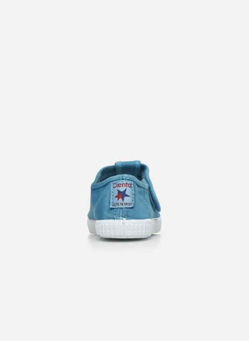 Sneakers Cienta Pilou Azzurro immagine destra
