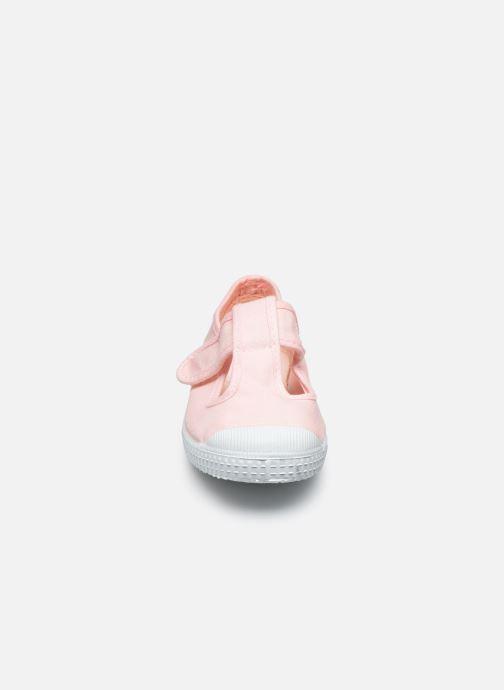Sneaker Cienta Pilou rosa schuhe getragen