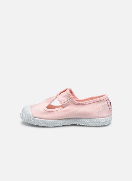 Sneaker Cienta Pilou rosa ansicht von vorne
