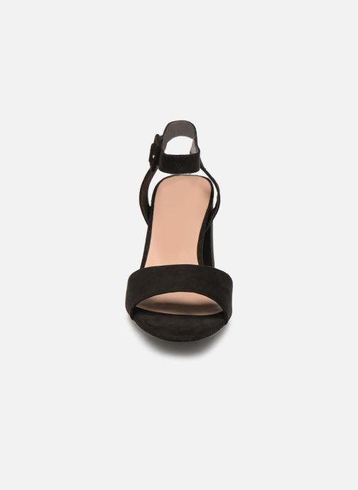 Sandali e scarpe aperte ONLY onlAMANDA HEELED SANDAL Nero modello indossato