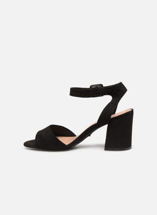 Sandales et nu-pieds ONLY onlAMANDA HEELED SANDAL Noir vue face