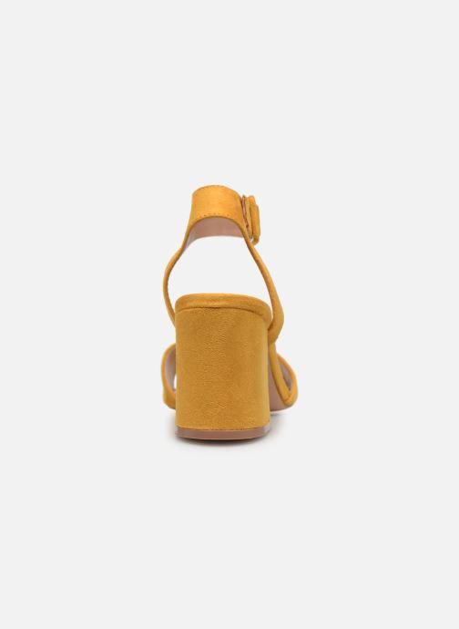 Sandalen ONLY onlAMANDA HEELED SANDAL gelb ansicht von rechts