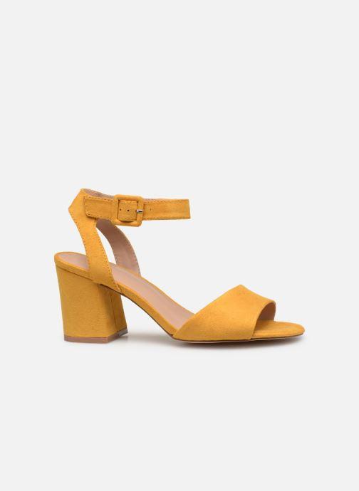 Sandales et nu-pieds ONLY onlAMANDA HEELED SANDAL Jaune vue derrière