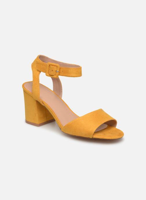 Sandales et nu-pieds ONLY onlAMANDA HEELED SANDAL Jaune vue détail/paire