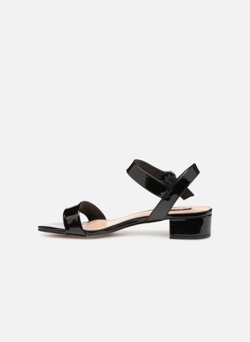 Sandales et nu-pieds ONLY onlAPPLE MIDI HEELED PATENT SANDAL Noir vue face