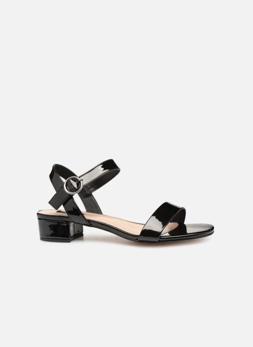 Sandales et nu-pieds ONLY onlAPPLE MIDI HEELED PATENT SANDAL Noir vue derrière