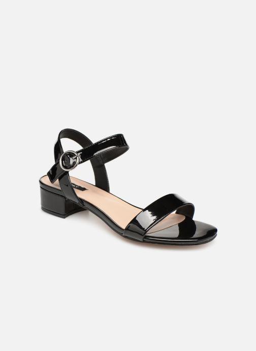 Sandales et nu-pieds ONLY onlAPPLE MIDI HEELED PATENT SANDAL Noir vue détail/paire