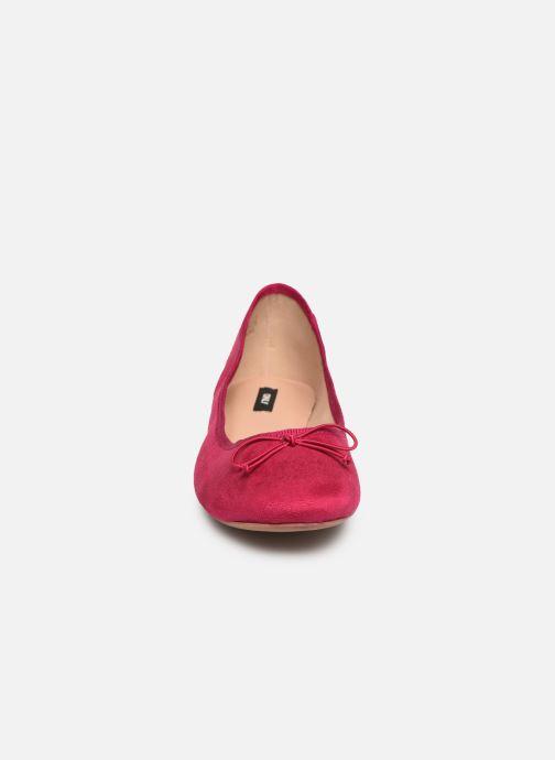 Ballerines ONLY onlBEE SHIMMER BALLERINA Rose vue portées chaussures