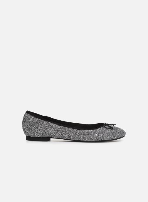 Ballet pumps ONLY onlBEE SHIMMER BALLERINA Silver back view