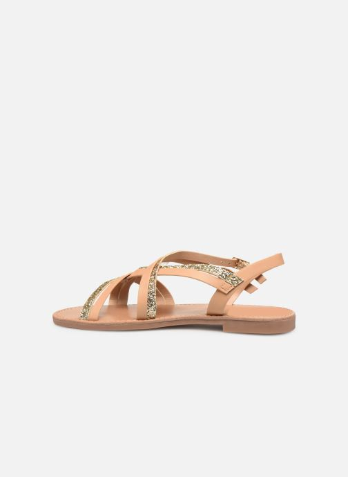 Sandales et nu-pieds ONLY onlMANDALA CROSSOVER SANDAL Beige vue face