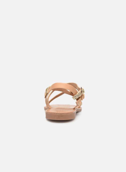 Sandales et nu-pieds ONLY onlMANDALA CROSSOVER SANDAL Beige vue droite