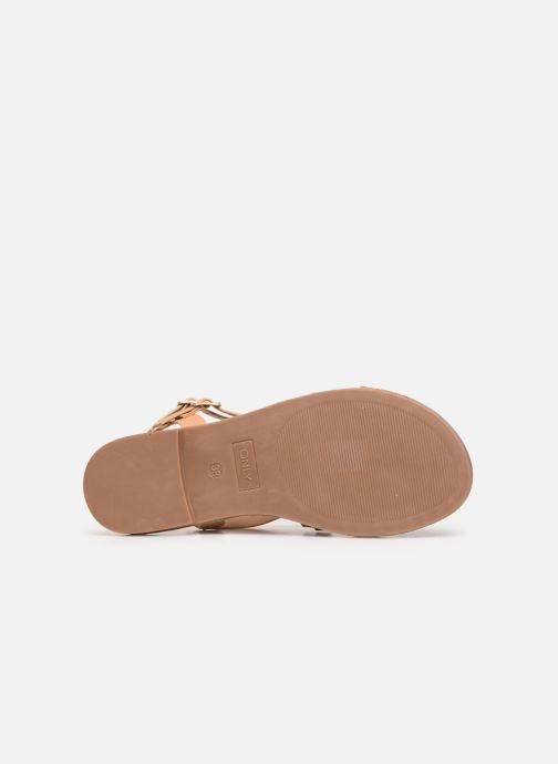 Sandales et nu-pieds ONLY onlMANDALA CROSSOVER SANDAL Beige vue haut