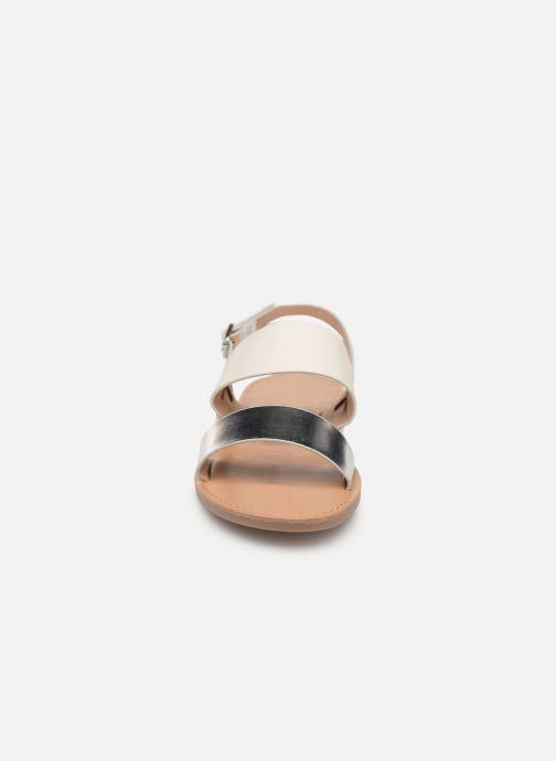 Sandales et nu-pieds ONLY onlMANDALA MIX SANDAL Blanc vue portées chaussures