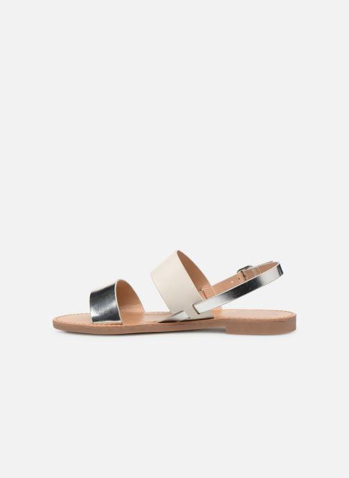 Sandales et nu-pieds ONLY onlMANDALA MIX SANDAL Blanc vue face